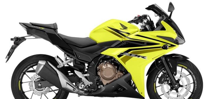 Honda-cbr-500r-sarı